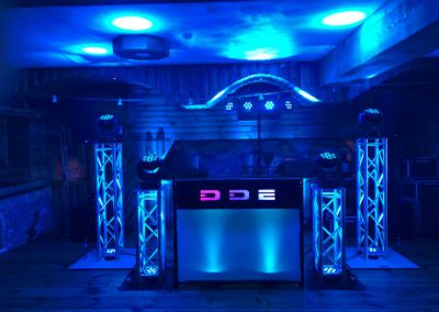 Dutch DJ Wedding DJ booth