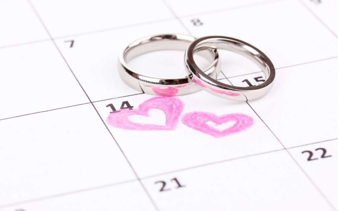 Bruiloft verplaatsen stappenplan
